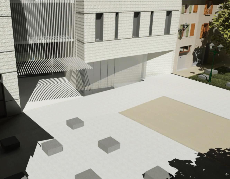Perspectives de projet d architecture gea for Architecture projet