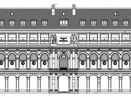 Relevé architectural : plan, coupes, façades, toitures..